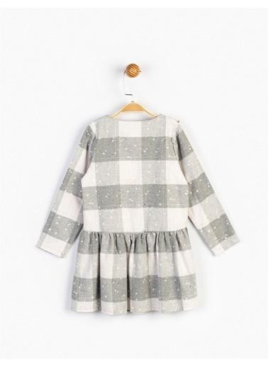Minnie Mouse  Çocuk Elbise 16136 Gri